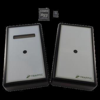 Автономный счетчик посетителей TRAFFIC 1D BLACK EDITION (SD карта в комплекте)