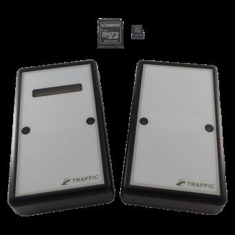 Автономный счетчик посетителей TRAFFIC 2D BLACK EDITION (SD карта в комплекте)