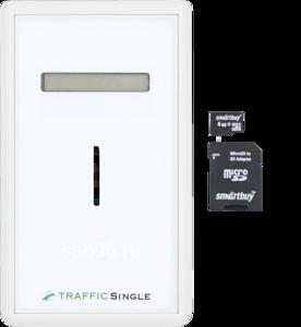 sao96.ru Счетчик подсчета посетителей TRAFFIC Single 1D (SD карта в комплекте)