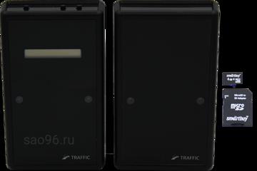 sao96.ru Автономный счетчик посетителей TRAFFIC 2D Black (SD карта в комплекте)