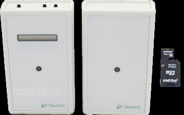 sao96.ru Автономный счетчик посетителей TRAFFIC 1D Grey (SD карта в комплекте)