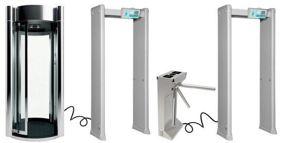 Интеграция в систему контроля доступа металлодетектор