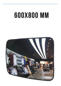 Зеркало безопасности 600х800 мм