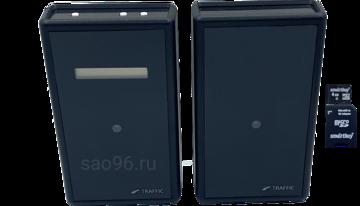 sao96.ru Автономный счетчик посетителей TRAFFIC 1D Black (SD карта в комплекте)